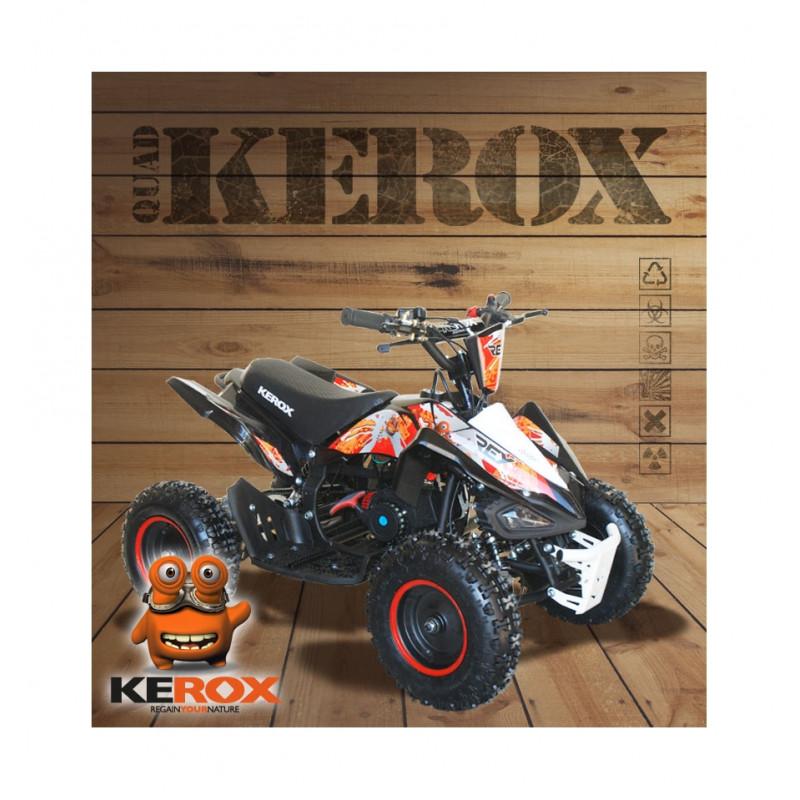 quad kerox rex 49cc motor passion 59. Black Bedroom Furniture Sets. Home Design Ideas