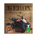 QUAD KEROX E-REX ÉLECTRIQUE BW6